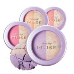 我的女神雙色腮紅 Dear my MUSE Duo Eye Blusher