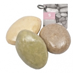 沐浴時光袋裝組(果香) Thai Scent Rock Soap(Apple cinnamon, Orange Spice, Lemograss)
