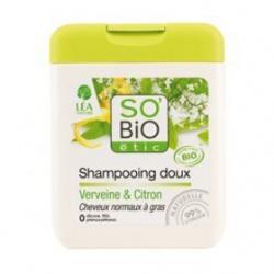 SO'BiO 洗髮-檸檬馬鞭草洗髮精 Gentle shampoo verbena & lemon - Normal to greasy