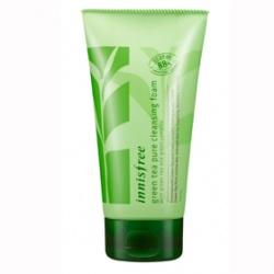 innisfree 臉部保養-純淨綠茶保溼潔顏泡泡