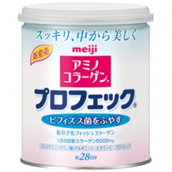 meiji 明治 Amino Collagen-明治膠原白粉罐裝(順暢plus)