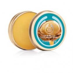 The Body Shop 美體小舖 摩洛哥堅果油身體護膚系列-摩洛哥堅果油唇部滋養霜