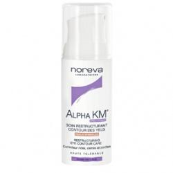 noreva 法國歐德瑪 眼部保養-深層抗皺修護眼霜 Alpha KM Restructuring Eye Contour Care(AK-003)