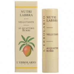 L`ERBOLARIO 蕾莉歐 唇部保養-乳果滋潤唇膏 Velvet Lip Nutrient with Four Butters