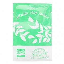 SoQ 面膜-綠茶面膜 Green Tea Mask