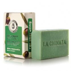 LA CHINATA 希那塔 沐浴清潔-蘆薈甘菊舒緩手工皂