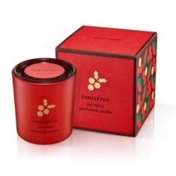 innisfree 暖暖聖誕限量系列-紅莓香氛蠟燭
