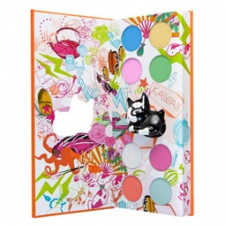 派對眼影盒連魅力唇彩套裝盒