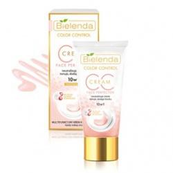 完美防護淨透紅潤CC 霜粉色十效合一妝前乳 CC 10 in 1 Multifunctional redness neutralizing face cream