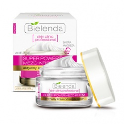 Bielenda 碧爾蘭達 臉部保養-逆時光活膚新生抗皺凝霜   Actively Rejuvenating ANTI-AGE Day/Night Cream SKIN CLINIC PROFESSIONAL