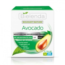 Bielenda 碧爾蘭達 乳霜-酪梨精華超水潤臉部滋養霜(日/夜) Avocado Day/ Night face cream