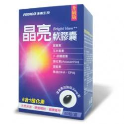 FEBICO 遠東生技 保健食品-複方DHA晶亮葉黃素軟膠囊