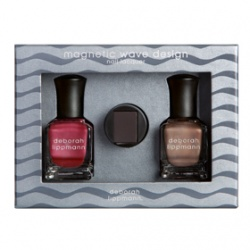 D eborah lippm ann Luxurious Nail Color奢華精品指甲油系列-奢華磁力甲油組(鋼鐵美甲)                  NAILS OF STEEL