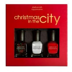 D eborah lippm ann Luxurious Nail Color奢華精品指甲油系列-紐約聖誕組 CHRISTMAS IN THE CITY
