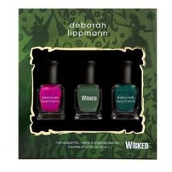 D eborah lippm ann Luxurious Nail Color奢華精品指甲油系列-淘氣俏皮組                    WICKED