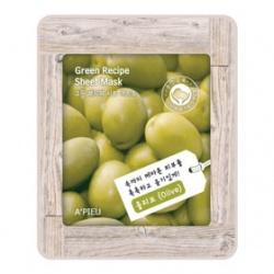 A`PIEU 保養面膜-植物精萃橄欖面膜