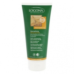 LOGONA 諾格那 植萃髮絲增色系列-小麥蛋白柔亮潤護乳