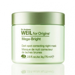 亮白無敵晚安面膜 Dr. WEIL for Origins™Mega Bright Dark spot correcting night mask