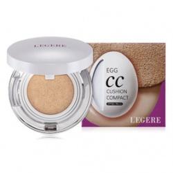 L`EGERE 蘭吉兒 粉霜(含氣墊粉餅)-蛋肌CC水感氣墊粉餅SPF50/PA+++