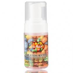 La May 拉美美人 彩虹糖基礎保濕美人系列-玫瑰超綿密洗面慕斯