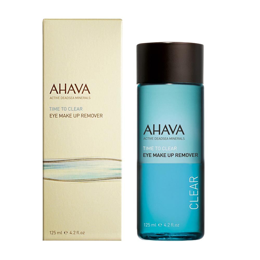 AHAVA 愛海珍泥 眼唇卸妝-礦淨眼唇卸妝液 Eye Makeup Remover