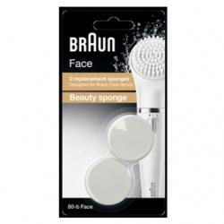 BRAUN 德國百靈 臉部保養用具-美肌海綿頭
