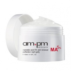 am+pm skincare 保養面膜-杏仁酸5%煥膚晚安凍膜 mandelic acid 5% skin renewal perfection night gelly