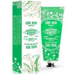 Institut Karite Paris 巴黎乳油木 手部保養-乳油木鈴蘭百合護手霜【10週年限量紀念款】 Shea Hand Cream So Chic  Lily of the Valley