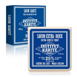 Institut Karite Paris 巴黎乳油木 沐浴清潔-乳油木牛奶乳霜皂 Shea Soap Milk Cream