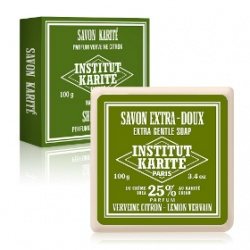 Institut Karite Paris 巴黎乳油木 沐浴清潔-乳油木檸檬馬鞭草皂 Shea Soap Lemon Verbena