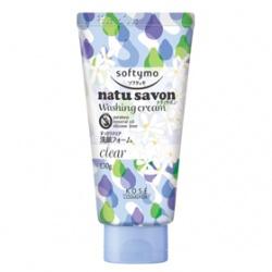 Softymo 絲芙蒂 洗顏系列-純淨植物洗面乳(瑩透型) NATUSAVON  WASHING CREAM(CLEAR)