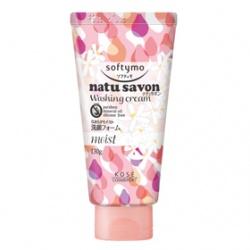 Softymo 絲芙蒂 洗顏系列-純淨植物洗面乳(水嫩型) NATUSAVON WASHING CREAM(MOIST)