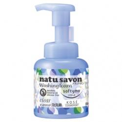 Softymo 絲芙蒂 洗顏系列-純淨植物泡洗顏(瑩透型) NATUSAVON WASHING FORM(CLEAR)