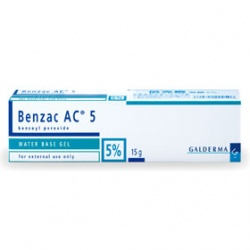 Benzac 倍克痘 皮膚問題-倍克痘凝膠5% BENZAC AC 5 GEL