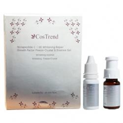 CosTrend 精華‧原液-極緻淡斑美白凍晶 Nonapeptide-1 C60 Whitening Repair Growth Factor Freeze-Crystal& Essence Set