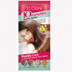 St.Clare 聖克萊爾 髮絲保養-10分瞬效溫塑膜髮帽 10 minutes Home Salon Hair Pack