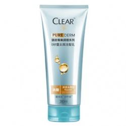Clear 淨 洗髮-PURE DERM頭皮專業調理0矽靈去屑洗髮乳(淨漾水潤)