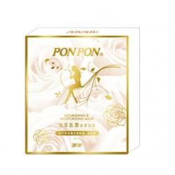 PON PON 澎澎 花萃系列-花萃肌潤保濕面膜