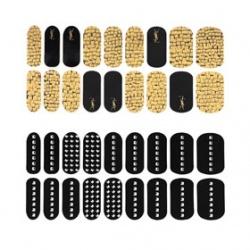 YSL 聖羅蘭  其它美甲產品-時尚金屬鉚釘美甲貼(限量)