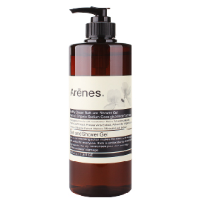 Arenes 穗花山奈系列-穗花山奈香氛植萃沐浴露 Butterfly Ginger Bath and Shower Gel