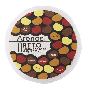 Arenes 手工皂系列-納豆凝水彈潤手工皂 Natto Handmade Soap