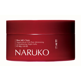 NARUKO 牛爾親研 保養面膜-紅薏仁超臨界毛孔美白晚安凍膜 Raw Job's Tears Supercritical CO2 Pore Minimizing & Brightening Night Gelly