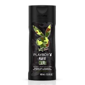 Playboy 男用雙效洗髮沐浴露系列-狂野情人男用雙效沐浴乳