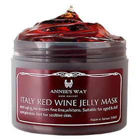 Annie`s Way 果凍面膜系列-義大利紅酒果凍面膜 Italy Red Wine Jelly Mask
