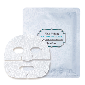 banila co. 保養系列-夢幻婚禮蕾絲面膜 WHITE WEDDING HYDROGEL MASK SHEET