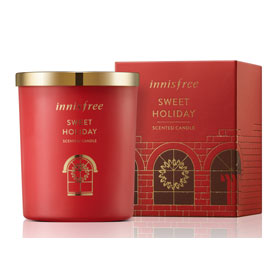 innisfree 暖暖聖誕限量系列-X-MAS香氛蠟燭(甜蜜假期)
