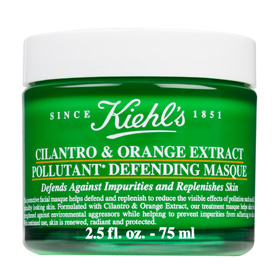 KIEHL`S 契爾氏 面膜-香珂草甜橙淨化面膜 CILANTRO & ORANGE EXTRACT POLLUTANT DEFENDING MASQUE