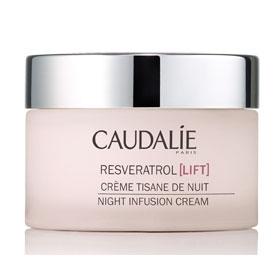 CAUDALIE 歐緹麗 臉部保養系列-葡萄藤白藜蘆醇逆時抗痕晚霜  NIGHT INFUSION CREAM