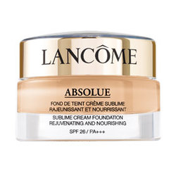 絕對完美精粹粉凝霜SPF26/PA+++ ABSOLUE SUBLIME REJUVENATING & NOURISHING CREAM FOUNDATION SPF26/PA+++