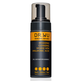 DR.WU 達爾膚醫美保養系列 男士速效保養系列-男士玻尿酸保濕潔顏慕斯